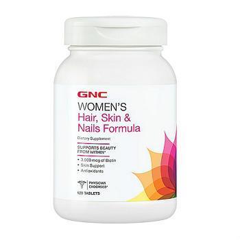 GNC Women's Hair, Skin & Nails Formula头发、皮肤、指甲方