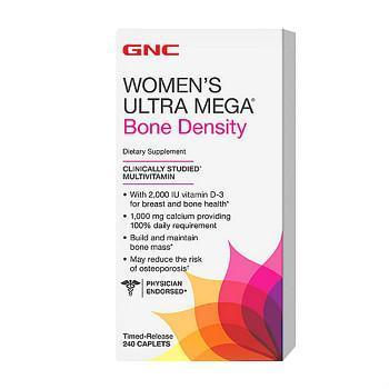 GNC Women's Ultra Mega®Bone Density增强骨密度版