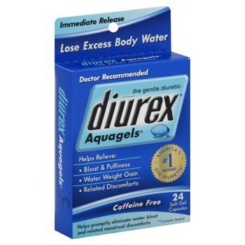 Diurex Aquagels软胶囊