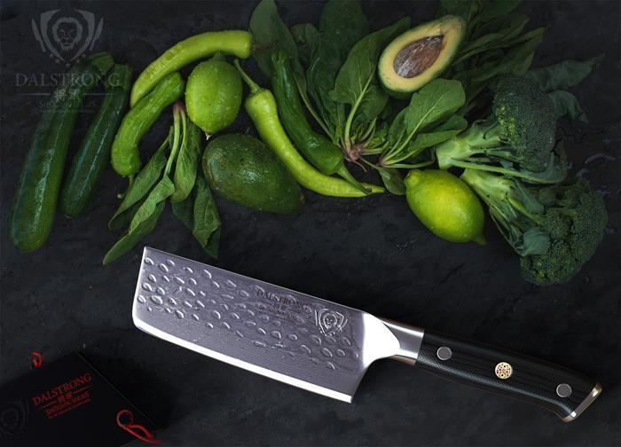 女(厨)神款:将军中式大马士革小厨刀